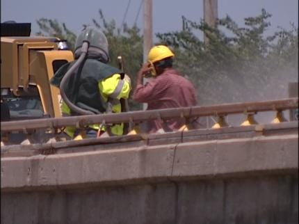 Workers 2 Weeks Into IDL Reconstruction Project