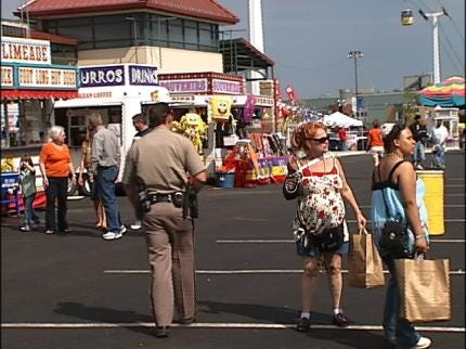 Tulsa County Wants City To Provide Security At Tulsa State Fair