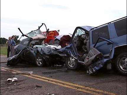 Afton Man Dies In Rogers County Collision