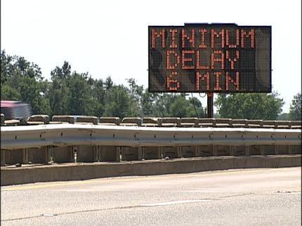 ODOT Using Smart Signs To Help Tulsa Traffic