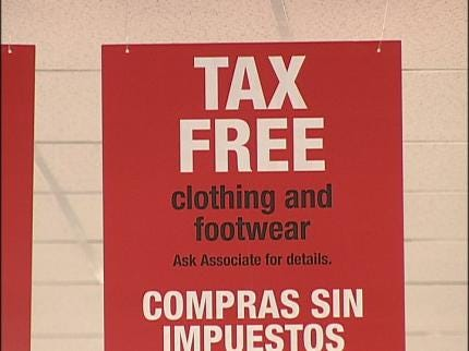 Sales Tax Break For Oklahoma Shoppers This Weekend