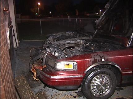Tulsa Overnight Car Fires Suspicious