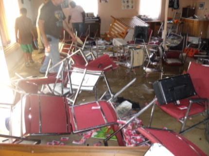 Two Juveniles Arrested In Sapulpa Church Vandalism