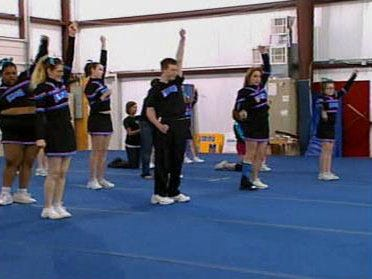 Special Needs Cheerleading Squad Delivers Spirit