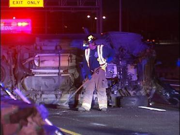 Tulsa Driver Avoids Hitting Fox, Rolls SUV
