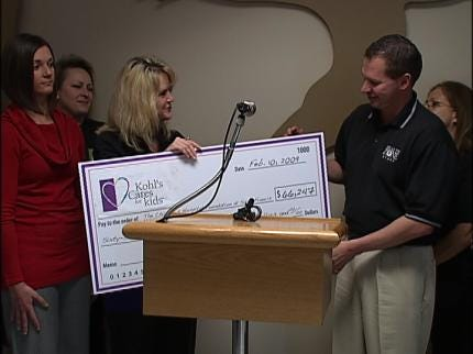 St. Francis Receives Donation From Kohls