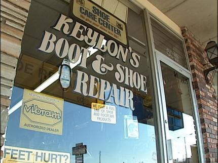 Tulsa Shoe Repair A Booming Business
