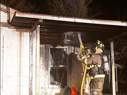 Fire Department: Meth Lab May Be Behind Sapulpa House Fire