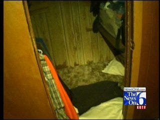 Lone Grove Family Finds Safety In Closet