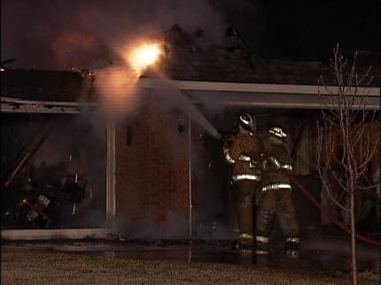 Skiatook Home Destroyed By Fire