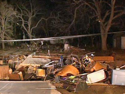 Twisters Touch Down In Oklahoma, Killing 8