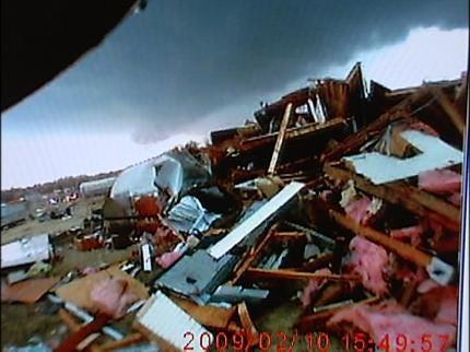 Edmond Area Firefighters Respond To Tornado
