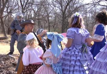 Regent Students Reenact Civil War Battle