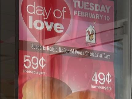 Ronald McDonald House Benefits From Day Of Love