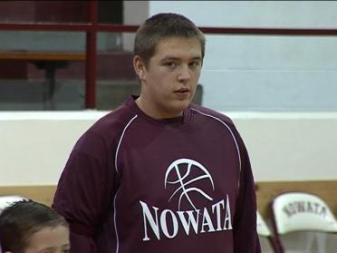 Muscular Disability Won't Defeat Nowata Sophomore