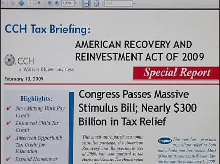 How Will The Stimulus Package Affect Your Wallet?