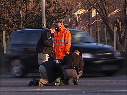 Hunt On For Driver In Deadly Tulsa Crash