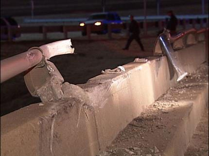 Two Injured In Overnight Tulsa Traffic Accident