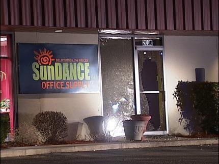 Broken Arrow Vandals Damage Business