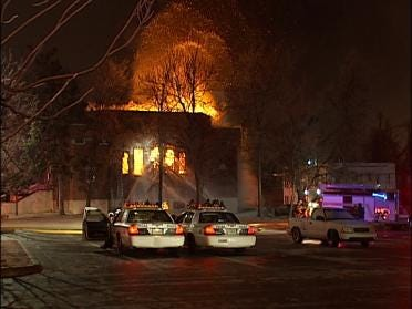 Leads Tracked In Tulsa Synagogue Fire