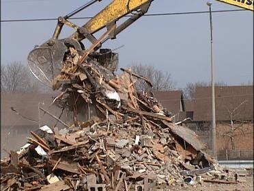 Plaza 51 Demolition Underway