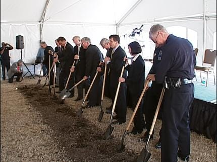 Ground Broken On New Tulsa Crime Lab