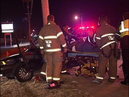 Several Tulsa Drivers Have Trouble Keeping Vehicles Upright