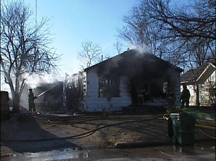Arson Suspected In Tulsa House Fire