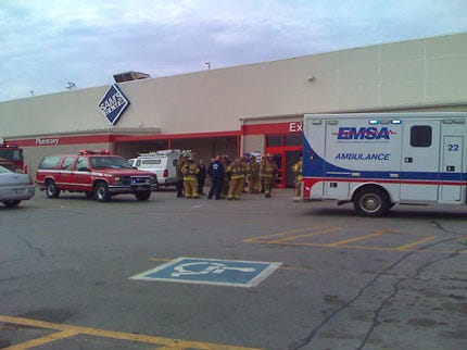Carbon Monoxide Scare At Tulsa Sam's Club