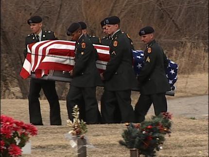 Funeral Held For Fallen Tulsa Soldier