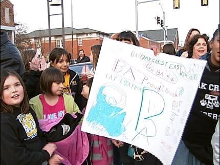 Rally Supports Broken Arrow Schools