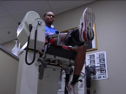 Former TU Football Player Rehabbing For NFL