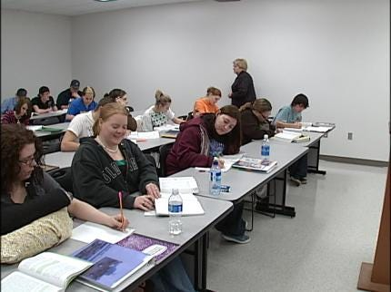 Program Sends Laid Off Pryor Workers To School