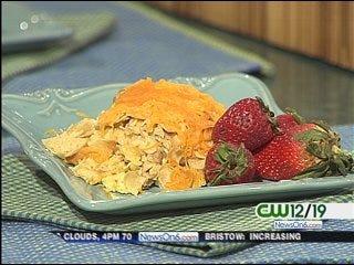 Crunchy Hot Chicken Salad