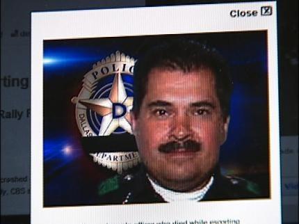 Tulsa Policeman Shares Bond With Fallen Officer