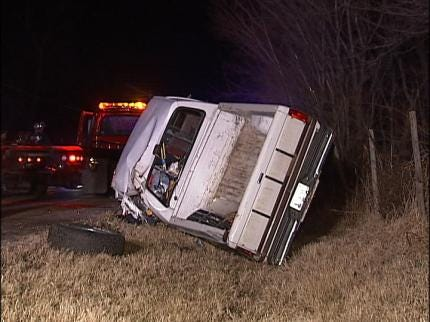 At Least One Injured In Two Overnight Tulsa Mishaps