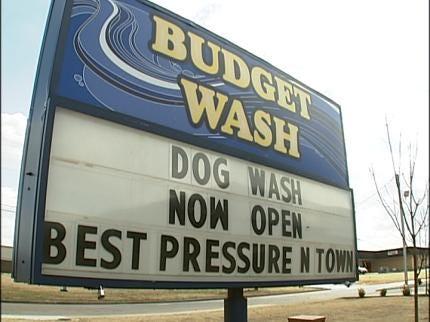 Broken Arrow Car Wash Also Has Dog Wash