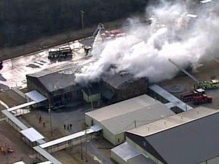 Fire Destroys Okmulgee County School