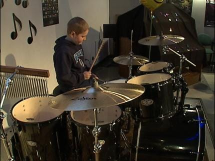 Tulsa Boy's Drum Wish Comes True