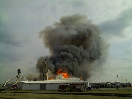 Crews Respond To Port of Catoosa Structure Fire