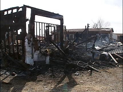 Events Benefit Family Of Sperry Fire Victim