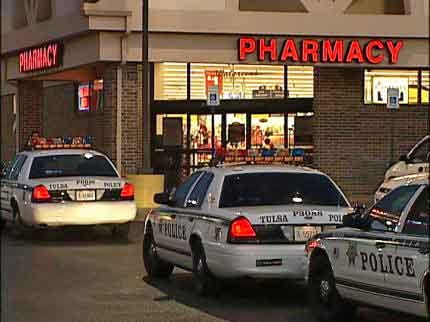 Man Steals Drugs And Money From Tulsa Pharmacy