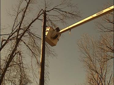 Out Of State Crews Helping To Restore Power