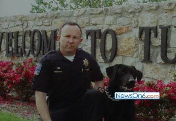 Tulsa Bomb Dog Retires After 11 Years of Service