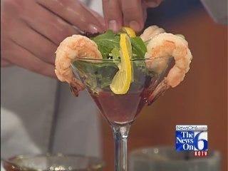 Shrimp Cocktail Martini