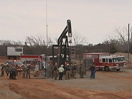 Teen Loses Arm In OKC Oil Pump Jack Accident