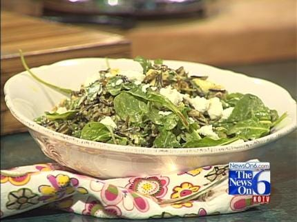 Curried Chicken And Wild Rice Salad