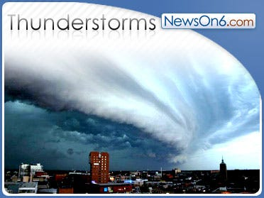 Stormy Weather Returns To Eastern Oklahoma