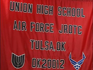 Union Junior ROTC Cadets Inauguration Bound