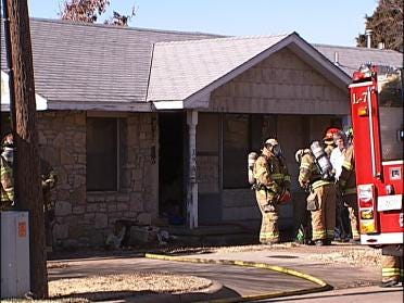 Meth Lab Found In Burning Tulsa Home